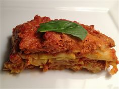 The JMP Raw Lasagna Recipe