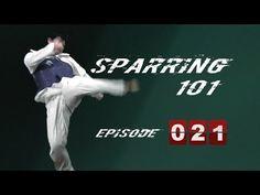★ Olympic Taekwondo Sparring 101 Course (TaekwonWoo)   Episode 021 - YouTube