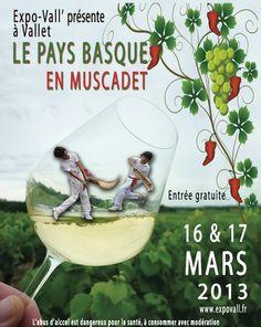 Vins de Loire - Expo-Vall' 2013 - Le Pays Basque en #muscadet