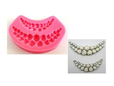 Beads Rhinestone Swag Silicone Mold #BeadsRhinestoneSiliconeMold #BeadsSwagSiliconeMold http://www.itacakes.com/product/beads-rhinestone-swag-silicone-mold/