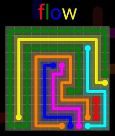 Flow Extreme Pack 2 - 12x12 - level 30 solution