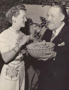 Bette with Monty Wooley