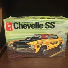 AMT Chevell SS plastic kit