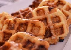 Sugar crusted waffles recipe waffle recipes waffles and crusts hayley duff sugar crusted belgian waffles forumfinder Images