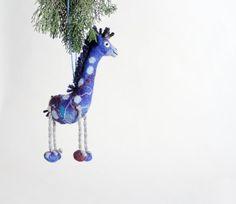 Christmas Ornament. Art Toy. Christmas tree gifts by TwoSadDonkeys
