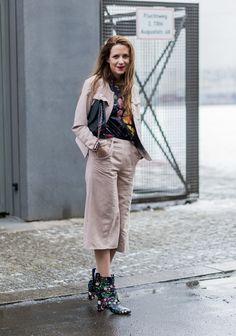So trotzen die Fashionistas dem Schnee bei der Berlin Fashion Week