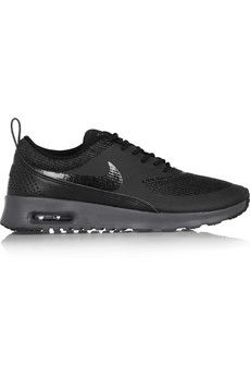 469618edd1 Nike Air Max Thea mesh and leather sneakers | NET-A-PORTER Leather Sneakers