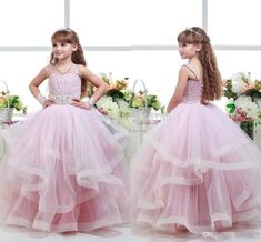 Color: AS-picture  Fabric:Lace and Tulle  Size:2-10  Length:Floor Length  Back:Zipper  We can make any colors of the dress if you need please contact us freely!!  Size: standard size or custom size, if dress is custom made, we need to size as following  bust______ cm/inch  waist__...