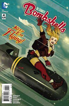 DC Comics Bombshells (2015) Issue #4