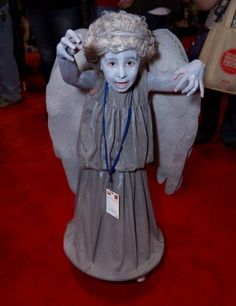 Cosplay We Love: Kiddie version of Who's Weeping Angel still weirdly creepy