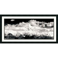 <li>Artist: Ansel Adams</li><li>Title: Mount McKinley Range, Clouds, Denali National Park, Alaska, 1948</li><li>Product type: Framed Print Art</li>