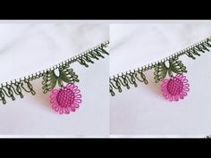 Needle Lace, Hand Embroidery, Elsa, Needlework, Origami, Diy And Crafts, Pattern, Youtube, Model
