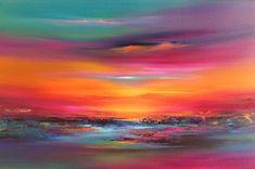 """""""Sanvean"""" Acrylic on canvas, 60x90 cm"""