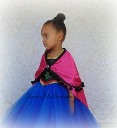 Pin for Later: 200+ Adorable Halloween Costumes For Your Trick-or-Treating Tot Anna's Cape and Gown