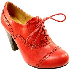 red brogues