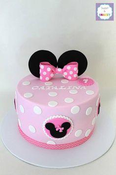 mini mouse cake disney cakes fondant cakes mickey mouse birthday cake ...