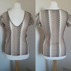 Women's Next Mesh Plus Size Vests, Cotton Vest, Sale Uk, Summer Tops, Embroidered Lace, Size 16, Short Sleeves