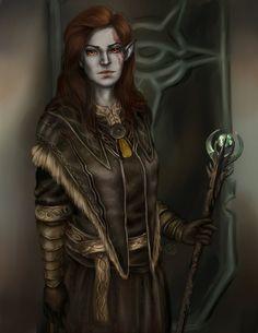TES V: Skyrim. arch-mage by shersann.deviantart.com on @DeviantArt