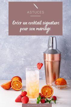 Créer un cocktail signature pour son mariage ! Vous souhaitez proposer un vin d'honneur à votre image ? Créez la surprise en proposant un cocktail signature pour votre mariage. Souvent, les futurs mariés me demandent comment peut-on être dans l'originalité en particulier dans notre choix de boissons et pour le vin d'honneur ? Et en général je leur demande s'ils sont d'abord prêts à oublier le traditionnel champagne ou le rosé bien frais. 