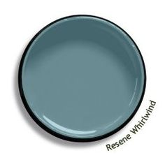 Resene Whirlwind is a swirl of blue, green and grey, an eddy of dust and cloud. View this and of other colours in Resene's online colour Swatch library House Paint Exterior, Exterior Paint Colors, Exterior House Colors, Blue Gray Paint Colors, Grey Paint, Paint Colours, Grey And Red Living Room, Resene Colours, Hallway Colours