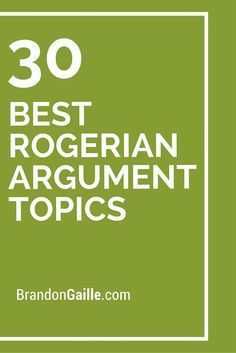 Structuring & Analyzing Arguments: The Classical, Toulmin & Rogerian Models