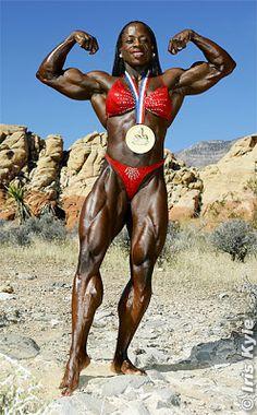 Female Bodybuilder Iris Kyle