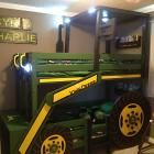 Ana White   Build a John Deere Tractor Toddler Bunk Beds   Free and Easy DIY Project and Furniture Plans