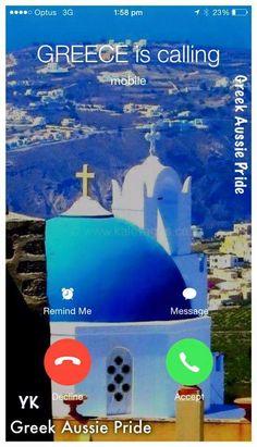 Greece is always calling!!!