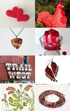 RED- 10 % Off All Featured Shops by Jennifer K. on Etsy--Pinned with TreasuryPin.com