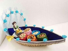 Super Fruit Basket Packing For Wedding 65 Ideas : Super Fruit Basket Packing For Wedding 65 Ideas Thali Decoration Ideas, Diwali Decorations, Indian Wedding Decorations, Decor Ideas, Basket Decoration, Wedding Gift Baskets, Wedding Gift Wrapping, Diwali Diy, Diwali Gifts