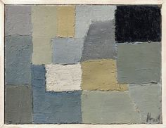 Artwork by Nicolas de Staël, Composition -, Made of Oil on canvas