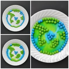 Skittles Earth Day Experiment – Crafty Morning - My handwork Earth Craft, Earth Day Crafts, Earth Day Activities, Activities For Kids, Science Activities, Recycled Crafts Kids, Crafts For Kids, Recycled Art, Skittles Experiment
