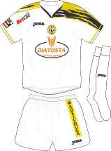 SC Beira Mar of Portugal away kit for 2010-11.