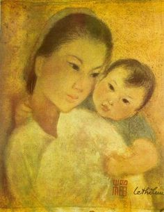 Le Thi Luu ~ Mother and Child'
