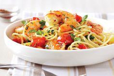 Shrimp Pasta Toss - family favourite, exactly as recipe!