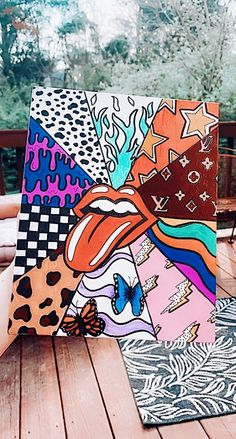 hippie painting ideas 722616702700415364 - taylormwhite Source by alainaazavedo Simple Canvas Paintings, Easy Canvas Art, Small Canvas Art, Mini Canvas Art, Cute Paintings, Diy Canvas, Easy Art, Sorority Canvas Paintings, Disney Canvas Art