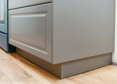 Perfecting the Imperfect In Our IKEA Kitchen: Fillers, Panels + Toe Kicks - Yellow Brick Home Kitchen Cabinets Toe Kick, Cabinet Toe Kick, Ikea Cabinets, Kitchen Vent, Kitchen Layout, Kitchen Design, Kitchen Decor, Kitchen Ideas, Kitchen Inspiration