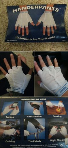 we had a pair of these in my house! but my dad gave them away at a white elephant party ha ha we all died laughing but had to try them on :) -morgan