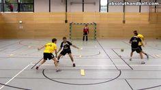 Handball --- Offense-/Tackletraining