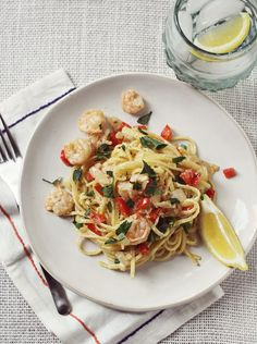 RED PEPPER SHRIMP SCAMPI