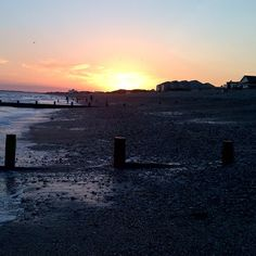 Here's an old #Sunset #Shot taken from #BrackleshamBay #Beach looking towards #EastWittering. Not a bad shot considering I used a #BlackBerry #PlayBook for this one! #Chichester #WestSussex
