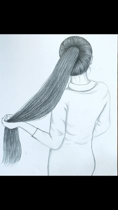 Pencil Sketches Of Girls, Pencil Drawings Of Girls, Girly Drawings, Art Drawings Sketches Simple, Art Drawings Beautiful, Beautiful Girl Drawing, Beautiful Sketches, Art Painting Tools, Doodle Art Designs