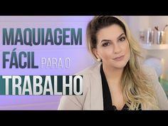 MAQUIAGEM FÁCIL PARA USAR NO TRABALHO | Alice Salazar