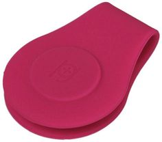 lovely pink PIP silicone money clip.