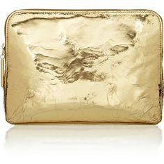3.1 Phillip Lim 31 Minute textured-leather clutch ($610) ❤ liked on Polyvore