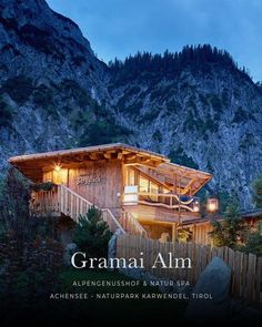 Gramai Alm, Naturhotel, NaturSpa, Achensee - Karwendel, Tirol