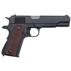 "Auto Ordnance 1911A1 GI Specs Semi Auto Pistol 45 ACP 5"" Barrel 7 Rounds Plastic Grips Matte Black - 1911BKOMA - 602686253505 $606.20"