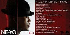 """Ne-Yo """"R.E.D"""" Album"""