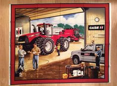 Girls and Tractors by Judy on Etsy