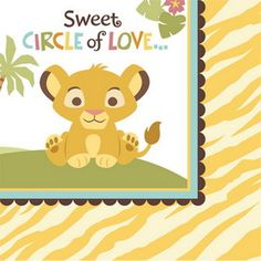 Image result for free printable lion king baby shower invitations package includes 16 beverage napkins to match your party theme timelestreasure lion king baby showerbaby filmwisefo Choice Image